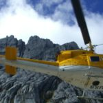 Helicopter Fly Into Carstensz Pyramid Wall, its only for Private Climb Carstensz By Helicopter